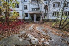Pripyat在乌克兰 免版税库存图片