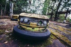 Pripyat游乐园 免版税库存图片