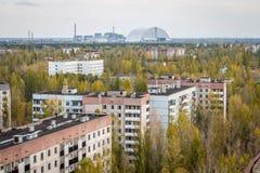 Pripyat鬼城在乌克兰 免版税图库摄影