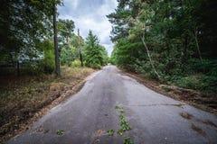 Pripyat鬼魂城市 库存照片