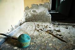 Pripyat. Kindergarten.Chernobyl area. Lost city Pripyat. Modern ruins. Ukraine. Kiev region Royalty Free Stock Photography