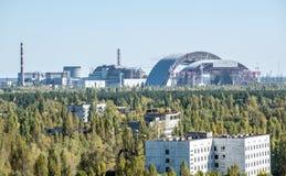 Pripyat镇 免版税库存图片