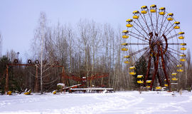 Pripyat Amusement Park Stock Image