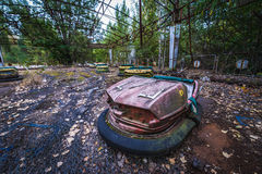 Pripyat amusement park Royalty Free Stock Photo