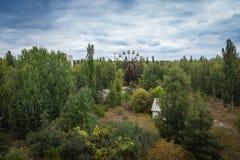 Pripyat amusement park Royalty Free Stock Photography