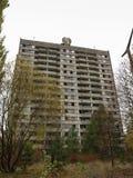 Pripyat in the Chernobyl Exclusion Zone, Ukraine, 2016 Stock Image