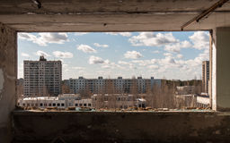 Pripyat ducha miasto Obrazy Stock