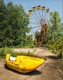 Pripyat Ferris Wheel/Chernóbil Foto de archivo libre de regalías