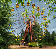 Pripyat Ferris Wheel/Chernóbil Imagen de archivo libre de regalías