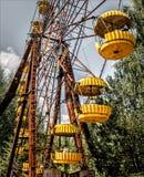 Pripyat Ferris Wheel/Tschornobyl Stockfotografie