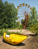 Pripyat Ferris Wheel/Tschornobyl Lizenzfreies Stockfoto