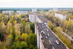 Pripyat-Geisterstadt in der Ukraine Lizenzfreies Stockbild