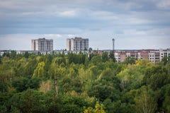 Pripyat ghost town Stock Image