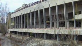 Pripyat – ghost town near Chernobyl stock video