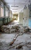 Pripyat korytarz Zdjęcie Royalty Free