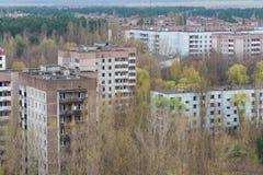 Pripyat - la ville morte image stock