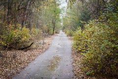 Pripyat miasto widmo w Ukraina Zdjęcie Stock