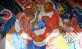 Pripyat Mural Stock Images