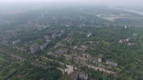 Pripyat spökstad arkivfilmer
