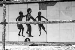 Pripyat spökstad i Ukraina Arkivfoton