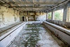 Pripyat stad royaltyfri fotografi