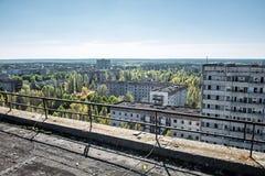 Pripyat-Stadt Lizenzfreie Stockfotos