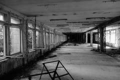 Pripyat - Tjernobyl arkivbild