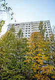 Pripyat town Stock Photo