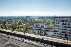 Pripyat town Royalty Free Stock Photos