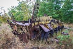 Pripyat in Ukraine Stock Photo