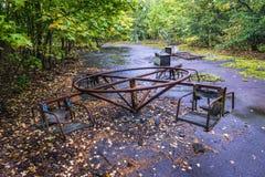 Pripyat in Ukraine Stock Image