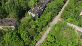 Pripyat Ulitsa Druzhby narodov Σχολείο 1 απόθεμα βίντεο