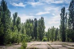 Pripyat (zona di esclusione di Cernobyl) fotografia stock libera da diritti