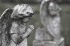Prière d'anges Photos libres de droits