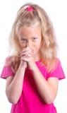Prière d'enfant Image libre de droits