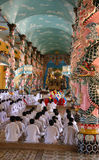 Prière de moines Photos libres de droits
