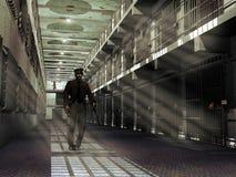 Prisão ilustração royalty free