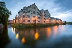 Prisão anterior que constrói Leeuwarden, Holanda imagem de stock royalty free