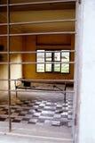 Prisão Cambodia do vermelho do Khmer Fotos de Stock