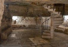 Prisão de Jesus Christ, prisão dos ladrões e de Barabbas, Jerusalém fotos de stock royalty free