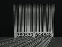 Prisão do código de barra Fotografia de Stock