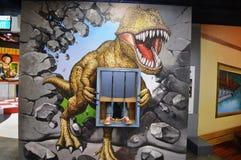Prisão do dinossauro Fotos de Stock