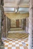 Prisão do museu do genocídio de Tuol Sleng em Phnom Penh fotos de stock