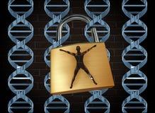 Prisão genética ilustração do vetor