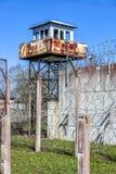 Prisão soviética abandonada do tempo fotos de stock royalty free