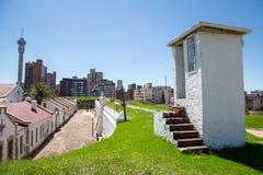Prisão velha do forte em Joanesburgo fotografia de stock