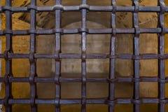 Prisões de Palazzo Ducale em Veneza fotografia de stock