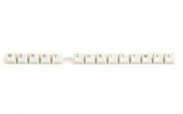 Pris från spridda tangentbordtangenter på vit Royaltyfri Foto