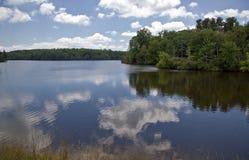 Pris sjö i sommaren fotografering för bildbyråer