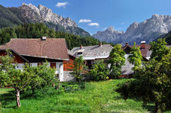 Prisank from Kranjska Gora Royalty Free Stock Images
